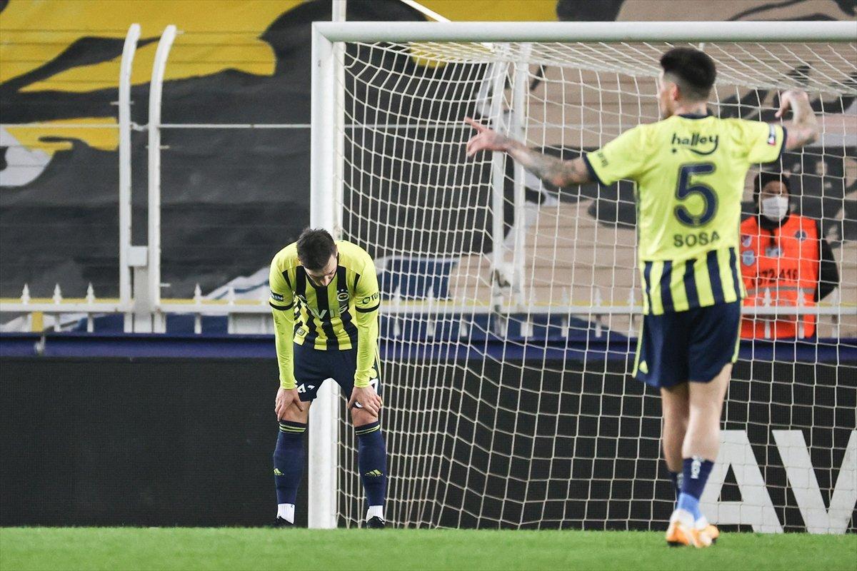 Fenerbahçe, Kadıköy de yine kazanamadı #3