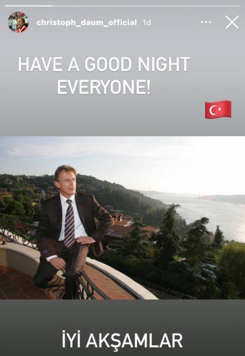 Fenerbahçe maçı sonrası Daum dan paylaşım #1