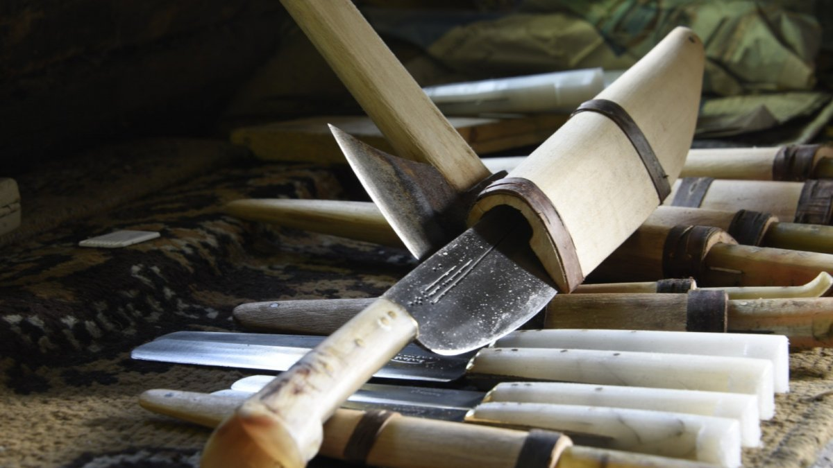 Kastamonu'nun Evrenye bıçağı coğrafi işaretli ürün oldu
