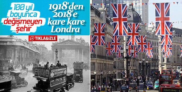 Kısa film tadında 100 fotoğrafta 100 yıllık Londra