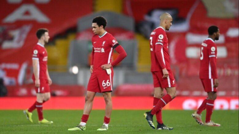 Liverpool tarihinde ilk kez evinde üst üste 5 maç kaybetti