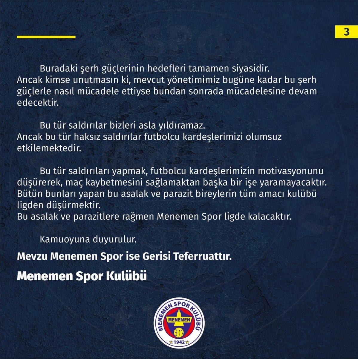 Mali polisler, Menemenspor kulübünü bastı #5