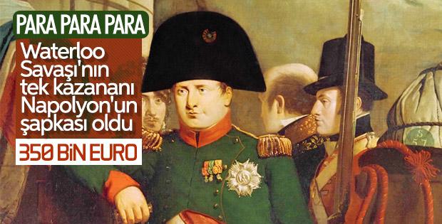 Napolyon'un Waterloo Savaşı'dan geriye kalan şapkası