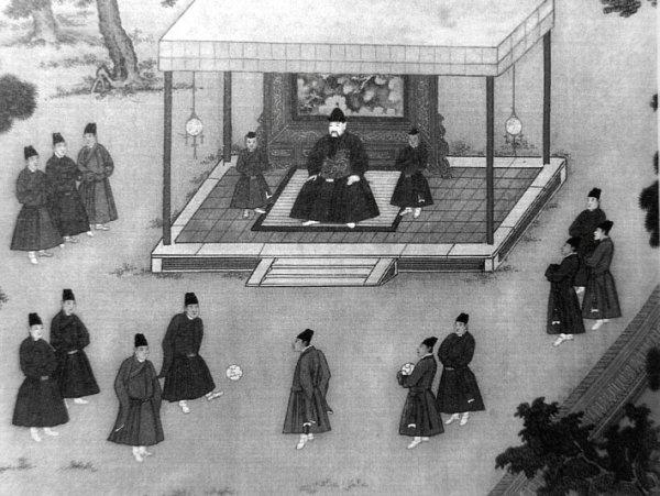 Tarihin ilk futbolcuları Çinlilerdi: Cuju Oyunu #1