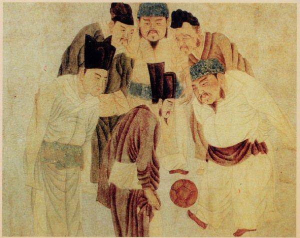 Tarihin ilk futbolcuları Çinlilerdi: Cuju Oyunu #2