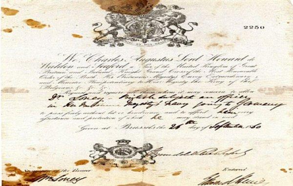 Tarihteki ilk pasaportlar #3