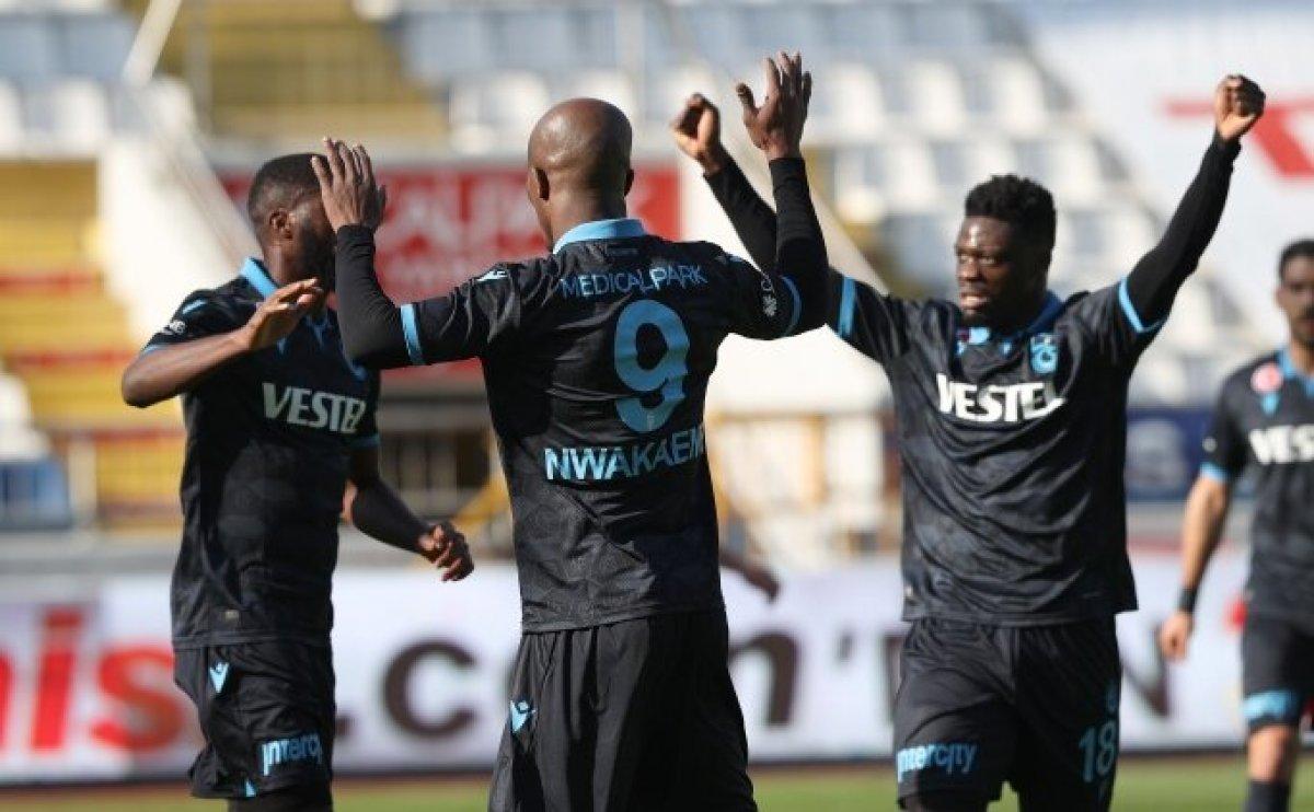 Trabzonspor, Kasımpaşa yı Bakasetas la yıktı #1