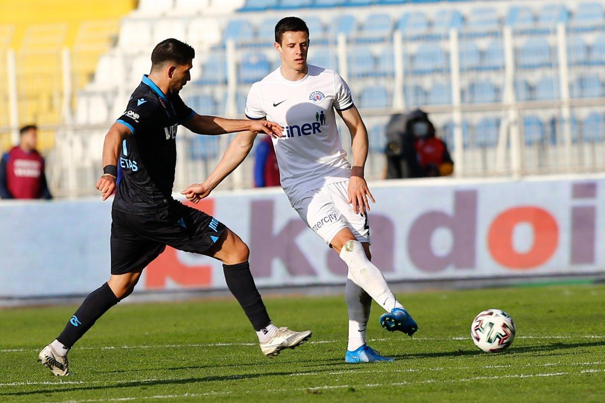 Trabzonspor, Kasımpaşa yı Bakasetas la yıktı #3