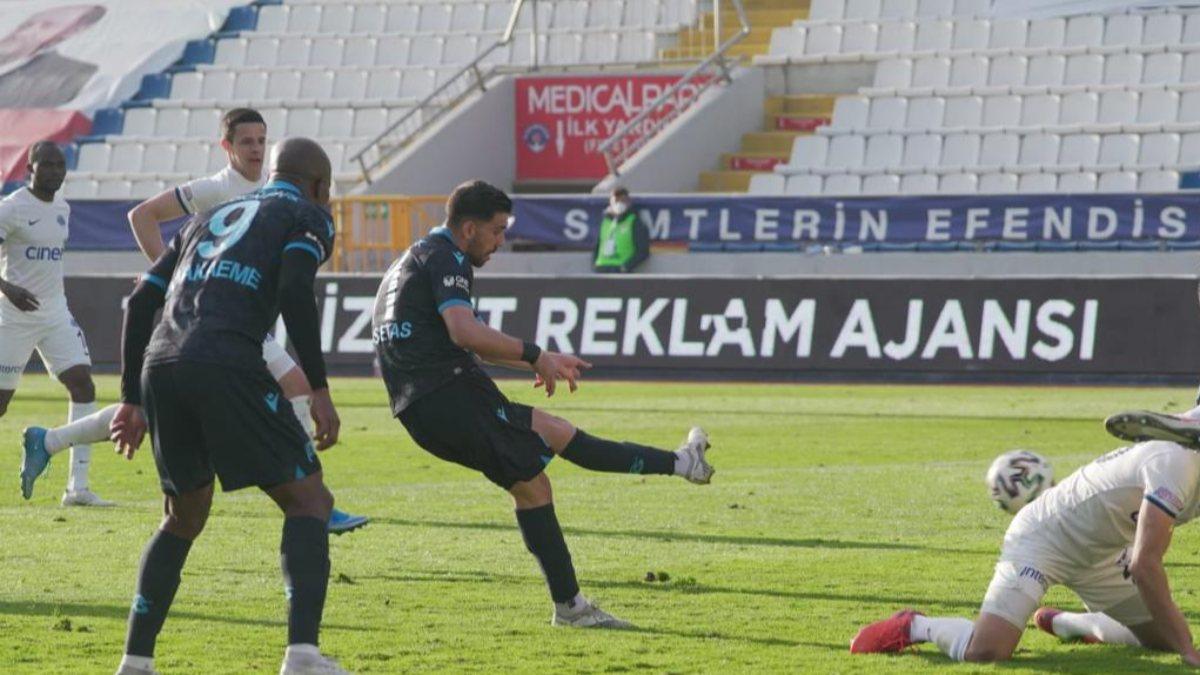 Trabzonspor, Kasımpaşa'yı Bakasetas'la yıktı